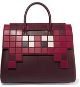 Anya Hindmarch Ephson Suede-Trimmed Leather Tote