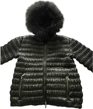 Philosophy di Alberta Ferretti Grey Coat for Women