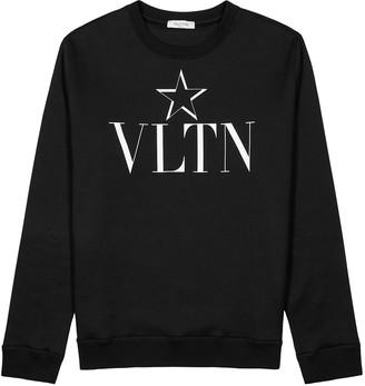 Valentino VLTNSTAR Printed Cotton-jersey Sweatshirt