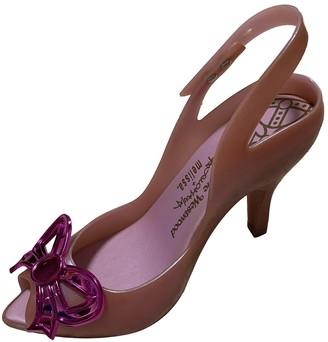 Vivienne Westwood Pink Plastic Heels