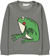 Mini Rodini Organic Cotton Frog Pullover