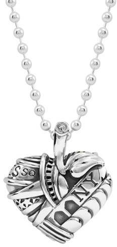Lagos Women's 'Hearts Of New York' Reversible Pendant Necklace (Online Only)