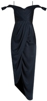Zimmermann Winsome off-the-shoulder sandwashed-silk dress