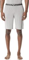 Emporio Armani Yarn Dyed Viscose Lounge Shorts