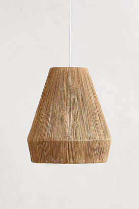 Anthropologie Bungalow Pendant By in Beige Size ALL