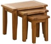 Vancouver Oak NB012 Nest of Tables (Set of 3)