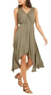 Style&Co. Style & Co Handkerchief-Hem Dress, Created for Macy's