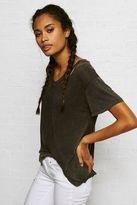 American Eagle Outfitters Don't Ask Why Drapey V-Neck T-Shirt