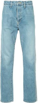 Doublet Side Panel Straight Leg Jeans