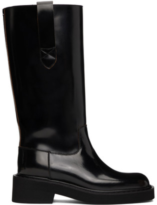 Maison Margiela Black Large Tall Boots