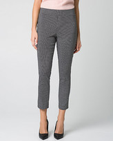 Le Château Geo Print Tech Stretch Slim Leg Crop Pant