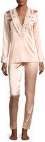 La Perla Azalea Stretch-Silk Pajama Set