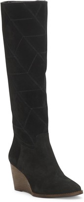 Lucky Brand Preeka Knee High Wedge Boot