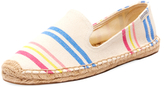 Soludos Candy Stripe Canvas Smoking Slipper