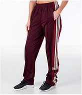 adidas Women's Originals AdiBreak Popper Track Pants, Purple