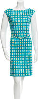 Prada Sleeveless Printed Dress