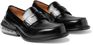 Maison Margiela Polished-Leather Penny Loafers