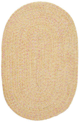 Colonial Mills West Bay Banana Tweed 2' x 4' Accent Rug Bedding