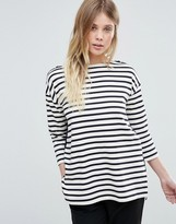 French Connection Annie Stripe Tee