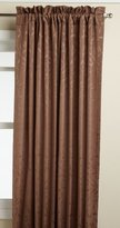 Lorraine Home Fashions Whitfield 52-inch by 84-inch Window Panel, Chocolate