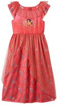 Disney Disney's Elena of Avalor Girls 4-10 Glitter Tulle Nightgown