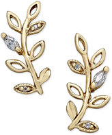 Giani Bernini Crystal Vine Ear Climber Earrings in 18k Gold-Plated Sterling Silver, Only at Macy's