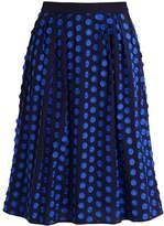 J.Crew GRACEWOOD Aline skirt baroque blue