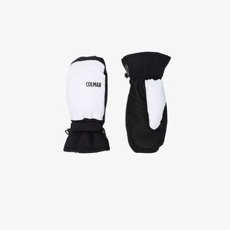 Colmar Black And White Insulated Ski Gloves