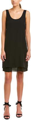 Heather Scoop Silk Tank Dress