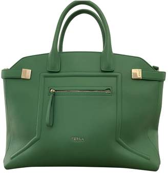 Furla Green Leather Handbags