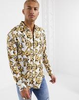 SikSilk long sleeve resort shirt