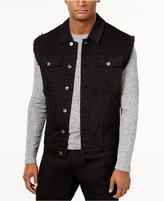 Lrg Men's Payola Pintucked Denim Vest