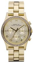Marc by Marc Jacobs Henry Glitz Goldtone Stainless Steel Chronograph Bracelet Watch