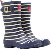Joules Women's Molly French Navy Stripe Wellies