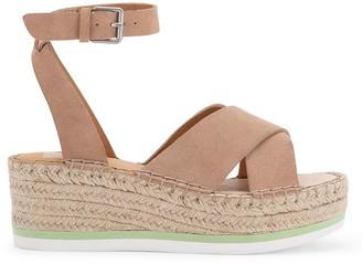 Dolce Vita Lianne Suede Platform Wedge Sandals