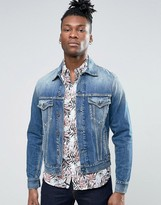 Pepe Jeans Mid Wash Denim Jacket