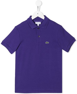 Lacoste Kids Embroidered Logo Polo Shirt