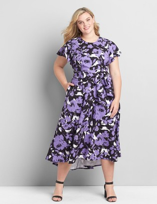 Lane Bryant Lena High-Low Dress