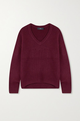 Arch4 Battersea Cashmere Sweater - Burgundy