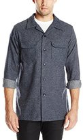 Pendleton Men's Long Sleeve Fitted Board Shirt, Navy, X-Large/Large