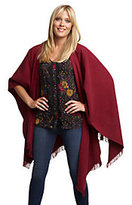 Rachel Zoe Luxe Wrap Shawl with Fringe