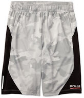 Ralph Lauren Childrenswear Textured Poly Camo Shorts