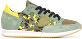 Philippe Model camouflage print sneakers
