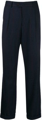 Brunello Cucinelli pinstripe slim-fit trousers