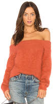 Tanya Taylor Finley Sweater in Rust. - size L (also in )