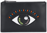Kenzo Eye clutch - women - Cotton/Leather/Nylon/Polyurethane - One Size