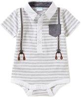 Edgehill Collection Baby Boys Newborn-6 Months Striped Bodysuit