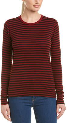 Three Dots Mykonos Stripe T-Shirt
