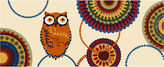 Nourison Owl Washable Runner Rug