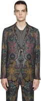 Etro Paisley Cool Wool Jacquard Jacket